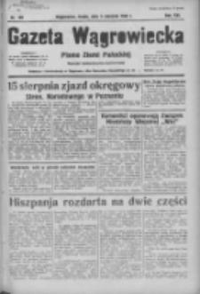 Gazeta Wągrowiecka: pismo ziemi pałuckiej 1936.08.05 R.16 Nr180