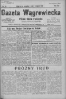 Gazeta Wągrowiecka: pismo ziemi pałuckiej 1936.08.06 R.16 Nr181