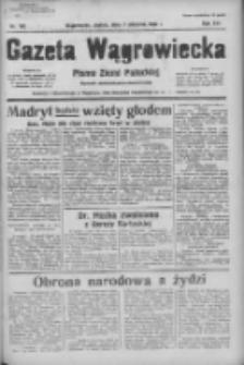 Gazeta Wągrowiecka: pismo ziemi pałuckiej 1936.08.07 R.16 Nr182