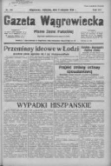 Gazeta Wągrowiecka: pismo ziemi pałuckiej 1936.08.09 R.16 Nr184