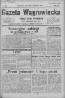 Gazeta Wągrowiecka: pismo ziemi pałuckiej 1936.08.12 R.16 Nr186