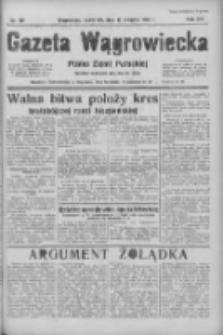 Gazeta Wągrowiecka: pismo ziemi pałuckiej 1936.08.13 R.16 Nr187