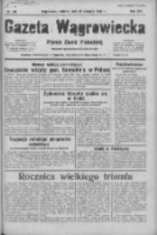 Gazeta Wągrowiecka: pismo ziemi pałuckiej 1936.08.15 R.16 Nr189