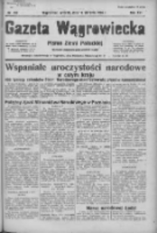 Gazeta Wągrowiecka: pismo ziemi pałuckiej 1936.08.18 R.16 Nr190