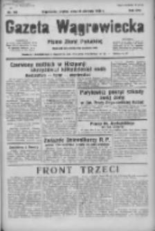 Gazeta Wągrowiecka: pismo ziemi pałuckiej 1936.08.21 R.16 Nr193