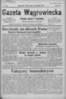 Gazeta Wągrowiecka: pismo ziemi pałuckiej 1936.08.22 R.16 Nr194
