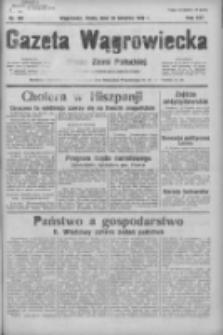 Gazeta Wągrowiecka: pismo ziemi pałuckiej 1936.08.26 R.16 Nr197