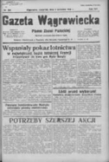 Gazeta Wągrowiecka: pismo ziemi pałuckiej 1936.09.03 R.16 Nr204