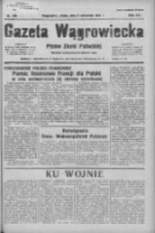 Gazeta Wągrowiecka: pismo ziemi pałuckiej 1936.09.09 R.16 Nr209