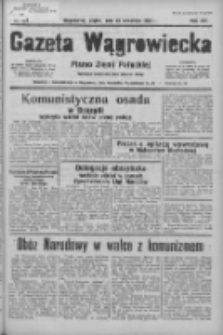 Gazeta Wągrowiecka: pismo ziemi pałuckiej 1936.09.25 R.16 Nr223