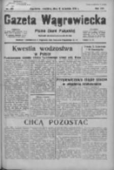Gazeta Wągrowiecka: pismo ziemi pałuckiej 1936.09.27 R.16 Nr225