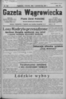Gazeta Wągrowiecka: pismo ziemi pałuckiej 1936.10.01 R.16 Nr228