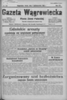 Gazeta Wągrowiecka: pismo ziemi pałuckiej 1936.10.07 R.16 Nr233