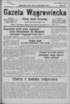 Gazeta Wągrowiecka: pismo ziemi pałuckiej 1936.10.14 R.16 Nr239