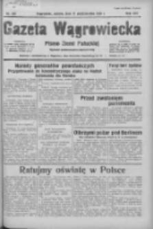 Gazeta Wągrowiecka: pismo ziemi pałuckiej 1936.10.17 R.16 Nr242