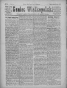 Goniec Wielkopolski: najtańsze pismo codzienne dla wszystkich stanów 1922.03.11 R.45 Nr58
