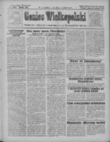 Goniec Wielkopolski: najtańsze pismo codzienne dla wszystkich stanów 1928.08.18 R.51 Nr189