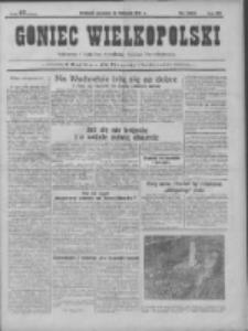 Goniec Wielkopolski: najtańsze pismo codzienne dla wszystkich stanów 1931.11.19 R.55 Nr268
