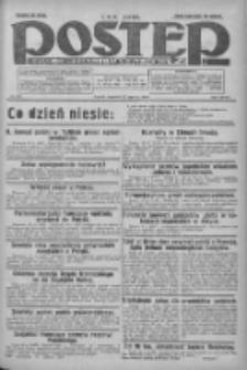 Postęp: dziennik chrześcijański i narodowy: wychodzi w Poznaniu 1925.06.25 R.36 Nr144