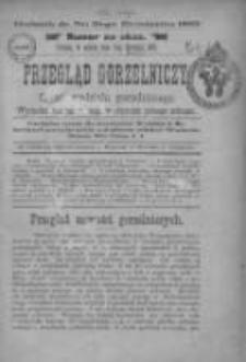 Przegląd Gorzelniczy: organ Wydziału gorzelniczego 1895.08.03 R.1