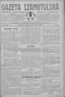 Gazeta Szamotulska: niezależne pismo narodowe, społeczne i polityczne 1934.04.28 R.13 Nr50