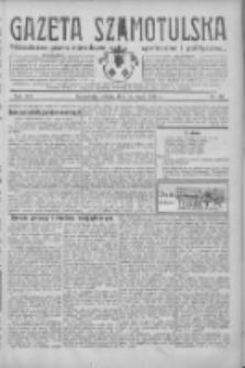 Gazeta Szamotulska: niezależne pismo narodowe, społeczne i polityczne 1934.05.12 R.13 Nr56