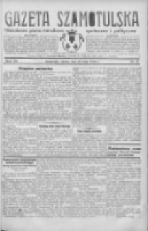 Gazeta Szamotulska: niezależne pismo narodowe, społeczne i polityczne 1934.05.26 R.13 Nr61