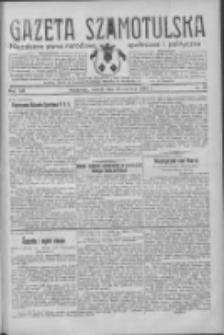 Gazeta Szamotulska: niezależne pismo narodowe, społeczne i polityczne 1934.06.12 R.13 Nr68
