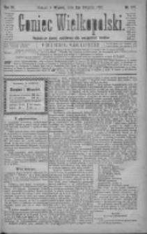 Goniec Wielkopolski: najtańsze pismo codzienne dla wszystkich stanów 1880.08.03 R.4 Nr175