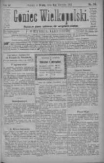 Goniec Wielkopolski: najtańsze pismo codzienne dla wszystkich stanów 1880.08.04 R.4 Nr176