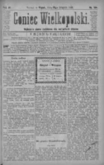 Goniec Wielkopolski: najtańsze pismo codzienne dla wszystkich stanów 1880.08.13 R.4 Nr184