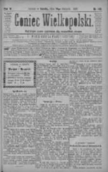 Goniec Wielkopolski: najtańsze pismo codzienne dla wszystkich stanów 1880.08.14 R.4 Nr185