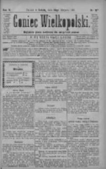 Goniec Wielkopolski: najtańsze pismo codzienne dla wszystkich stanów 1880.08.28 R.4 Nr197