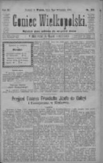 Goniec Wielkopolski: najtańsze pismo codzienne dla wszystkich stanów 1880.09.07 R.4 Nr205
