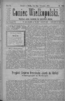 Goniec Wielkopolski: najtańsze pismo codzienne dla wszystkich stanów 1880.09.08 R.4 Nr206