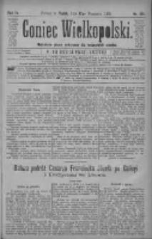 Goniec Wielkopolski: najtańsze pismo codzienne dla wszystkich stanów 1880.09.17 R.4 Nr213