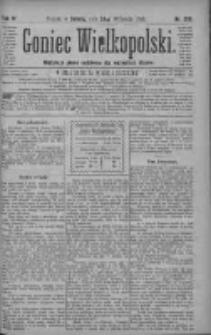Goniec Wielkopolski: najtańsze pismo codzienne dla wszystkich stanów 1880.09.25 R.4 Nr220