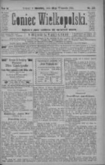 Goniec Wielkopolski: najtańsze pismo codzienne dla wszystkich stanów 1880.09.26 R.4 Nr221