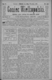 Goniec Wielkopolski: najtańsze pismo codzienne dla wszystkich stanów 1880.09.28 R.4 Nr222