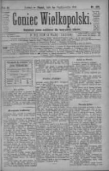 Goniec Wielkopolski: najtańsze pismo codzienne dla wszystkich stanów 1880.10.01 R.4 Nr225