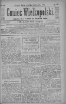 Goniec Wielkopolski: najtańsze pismo codzienne dla wszystkich stanów 1880.10.06 R.4 Nr229