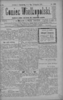 Goniec Wielkopolski: najtańsze pismo codzienne dla wszystkich stanów 1880.11.04 R.4 Nr253