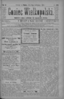 Goniec Wielkopolski: najtańsze pismo codzienne dla wszystkich stanów 1880.11.05 R.4 Nr254
