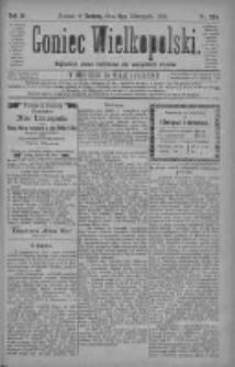 Goniec Wielkopolski: najtańsze pismo codzienne dla wszystkich stanów 1880.11.06 R.4 Nr255