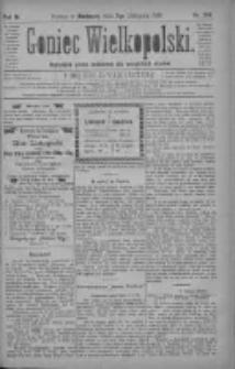 Goniec Wielkopolski: najtańsze pismo codzienne dla wszystkich stanów 1880.11.07 R.4 Nr256
