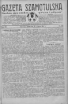 Gazeta Szamotulska: niezależne pismo narodowe, społeczne i polityczne 1934.09.15 R.13 Nr107