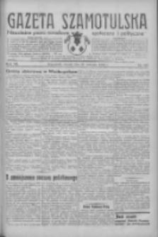 Gazeta Szamotulska: niezależne pismo narodowe, społeczne i polityczne 1934.09.25 R.13 Nr111