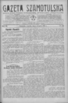 Gazeta Szamotulska: niezależne pismo narodowe, społeczne i polityczne 1934.11.01 R.13 Nr127