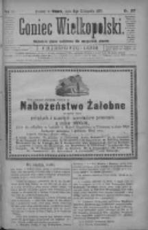Goniec Wielkopolski: najtańsze pismo codzienne dla wszystkich stanów 1880.11.09 R.4 Nr257