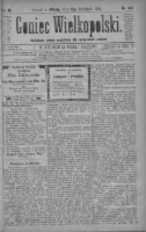 Goniec Wielkopolski: najtańsze pismo codzienne dla wszystkich stanów 1880.11.13 R.4 Nr261